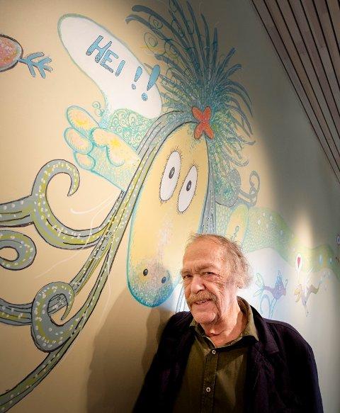 Thore Hansen (bildet) og Tor Åge Bringsværder tilbake med ny Ruffenbok.