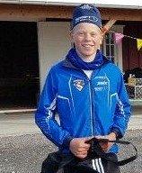 KLASSEVINNER: Lars Heggen fra Harestua seiret i 16-årsklassen.