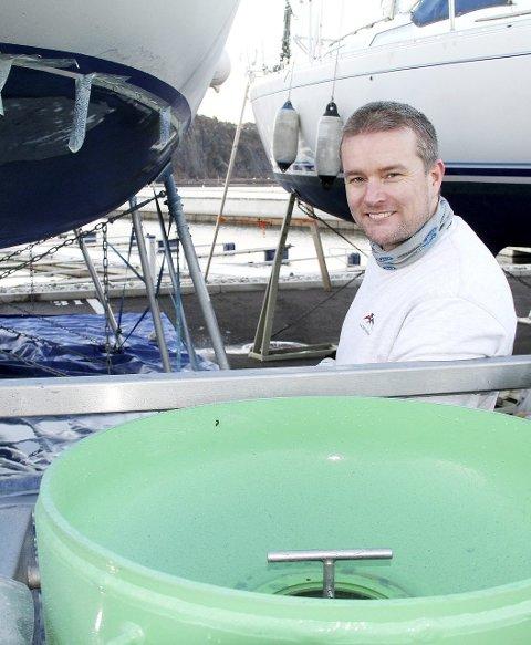 Gründer: Mathis Haugaasen har startet egen bedrift.