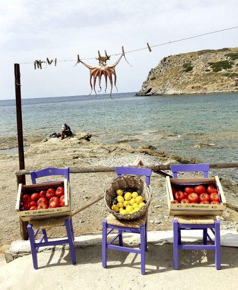 På Kreta: Sol, bading og opplevelser utenfor egen skjærgård er på ønskelisten til nordmenn. Foto: Pål Nordby