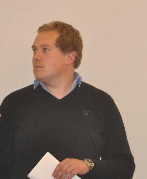 BEKREFTER: Daglig leder Hartvig M.Sverdrup i H. Sverdrup AS bekrefter at det en av deres ansatte som har testet positivt for korona.