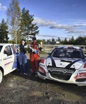 Team: Lise-Marie og Christian Sandmo.Foto: Innsendt