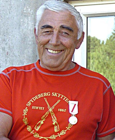 Fornøyd: Harald Buuer fra Spydeberg vant i Fredrikstad.