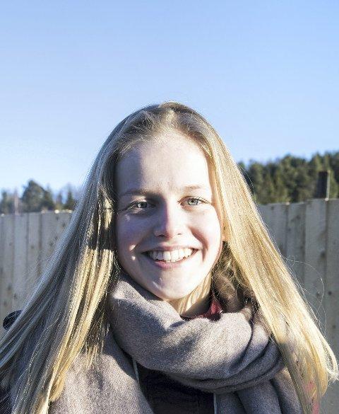 Elevrådsleder: Tuva Uberg.