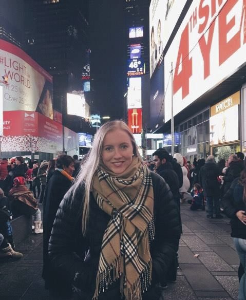 New york: Malin i New York, USA.