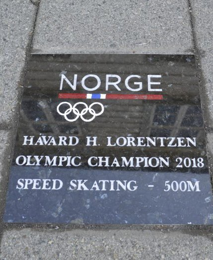 Slik ser Håvard Holmefjord Lorentzen sin stein ut.