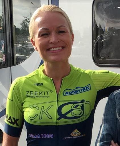 Best av samtlige: Hanne Cesilie Larsen var raskest av samtlige kvinner fra Lillehammer til Oslo søndag. (foto: Privat)