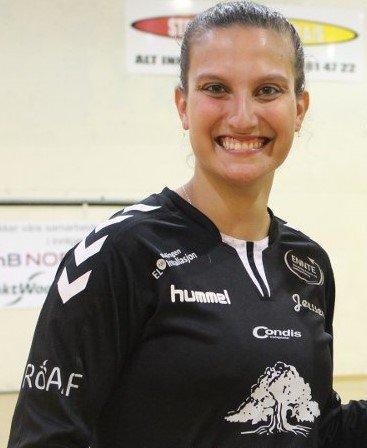 Caroline Martins er klar for FBK fra kommende sesong. Sisteksansen vil danne målvaktsduo med Hanne Sagvold.