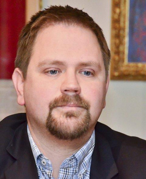 BLE IKKE ENIGE: Ordfører Roger Evjen og Fylkesmannen ble ikke enige om innsigelsene rundt Aurskog-Høland kommunes kommuneplan.