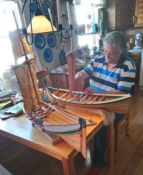 Oddbjørn Nyheim har en artig og utfordrende hobby.