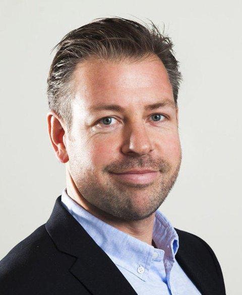 Pressesjef John Eckhoff i Posten Norge.