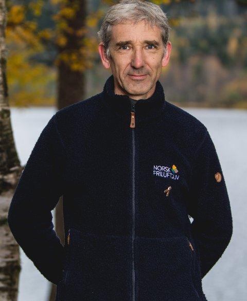 Lasse Heimdal er generalsekretær i Norsk Friluftsliv.