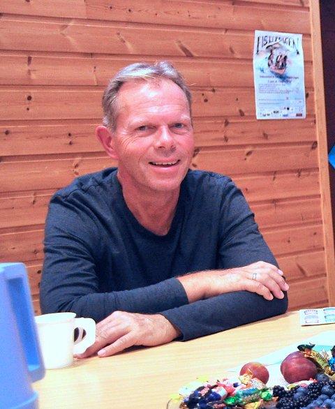 MED RYFAST: Jan Sverre Grimstad skal legga til rette for at Hjelmeland kan veksa med Ryfast på plass.