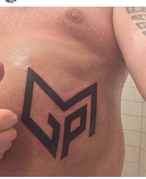 Tatoo: MGP-logoFoto fra Instagram