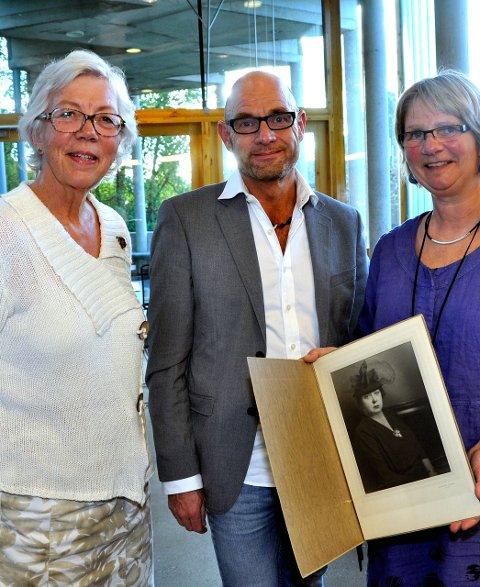 GLADE: Nan Bentzen Skille, Allan Bøe, og Bente Molvig.