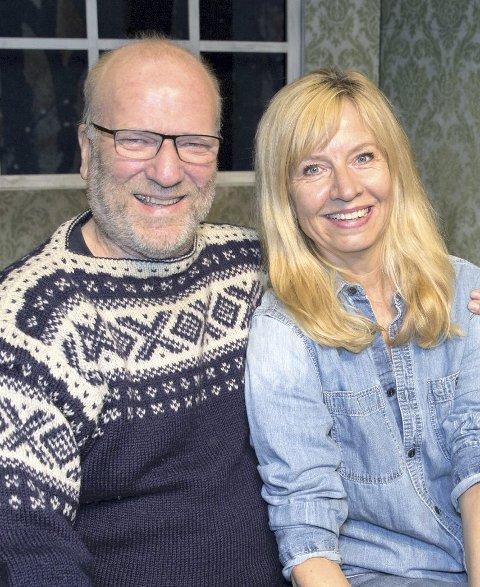 Komikerduo: Ingar Helge Gimle og Hege Schøyen.