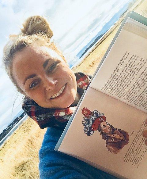 Ida Larmo (38) har illustrert Ola Bremnes sin bok om Hurtigruten.