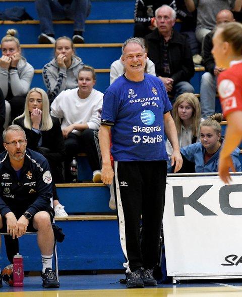 TIL NOTODDEN: Pål Oldrup Jensen har takket ja og signert kontrakt med Notodden Håndballag - og blir dermed den nye håndballtreneren på håndball-linja på Notodden Videregående. (Arkivfoto: Mats Lunder, Telemarksavisa)