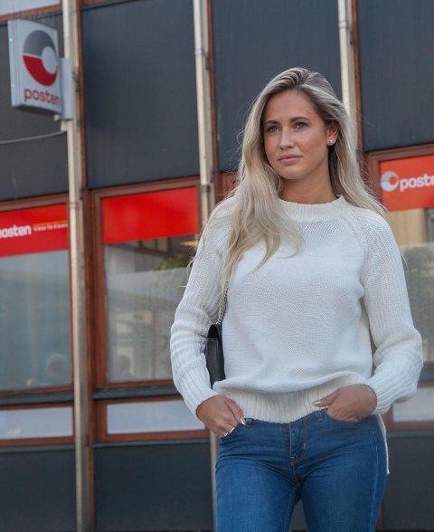 SJOKKERT: 21-åringen ble sjokkert da hun så hva som skjedde da hun skulle ta ut penger på Posten.