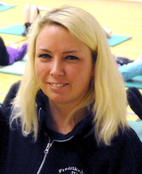 Christine Klingstrøm, leder i Fredrikshalds Turnforening.