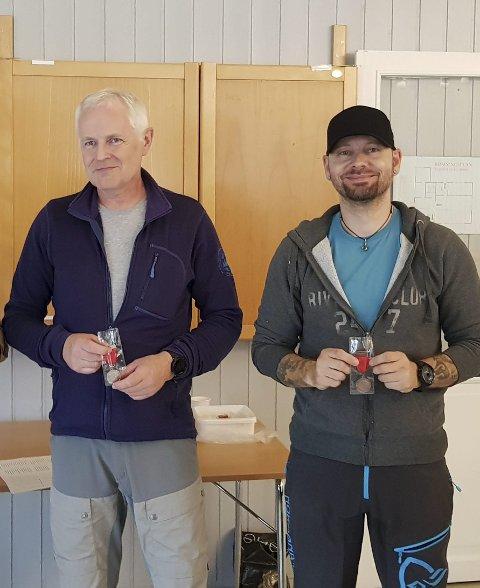 BRONSE:  Thomas Murbræch (t.h.) fra Mosjøen PK tok bronse i KM militærfelt.