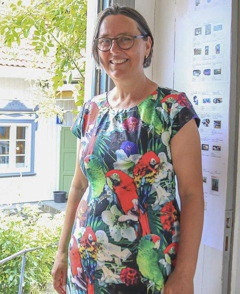 Anette Marstrander: Gleder seg til søndagens åpning av Nico Widerbergs utstilling.