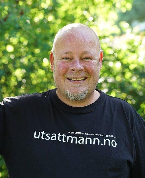 STOLT: Jarle Holseter i organisasjonen Utsattmann er stolt av Arild Hovden.