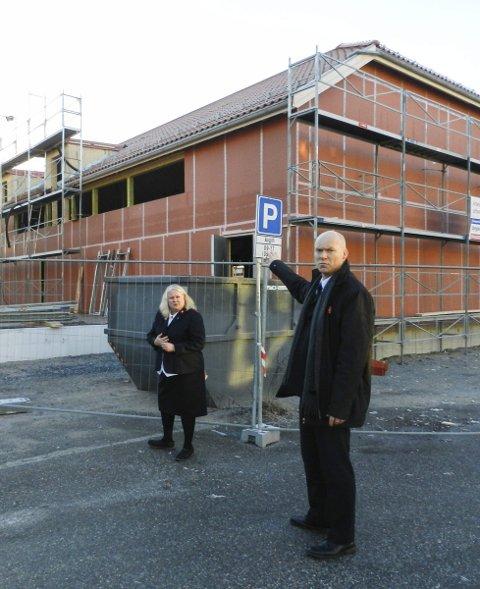 REISER SEG: Frelsesarmeen satser stort i Halden sentrum. 23 millioner kroner investeres her på Nordsiden.