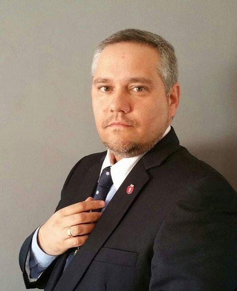 Jan Fredrik Vogt, Gruppeleder Sande FrP og medlem av fellesnemnda.