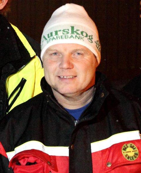 Har sett på muligheten: Rune Åslund i Stiftelsen Nes skianlegg.
