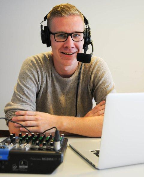 LIAN I BUA: Truls Lian kommenterer VM i straffekonk sammen med Even Berthelsen på tb.no.