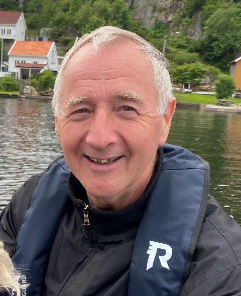 AKTIV I YRKESLIVET: Planen for neste år er å fortsatt være tilgjengelig som mentor og delta i forskjellige prosjekter og på timebasis utover det nye året, røper Petter Sirevåg.