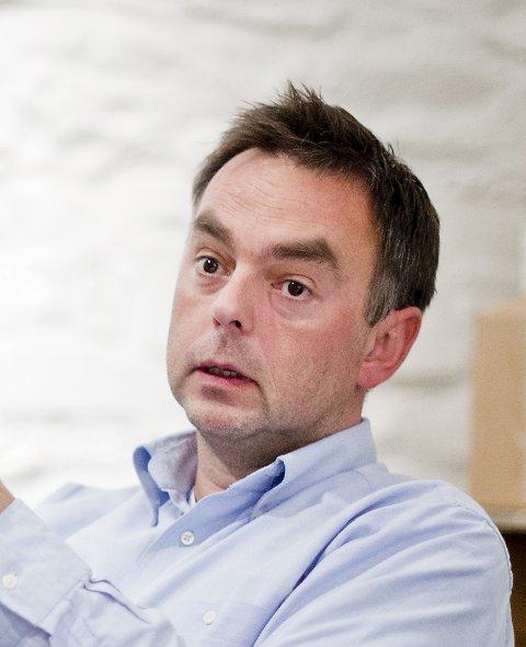 Distriktsleder Geir Vangsnes i Kreftforeningen.