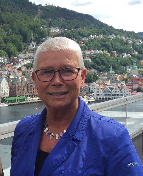 TUSEN LEDIGE: NAV-direktør Anne Kverneland Bogsnes presenterte tal som viser at det er tusen arbeidsledige i Sunnfjord kommune.