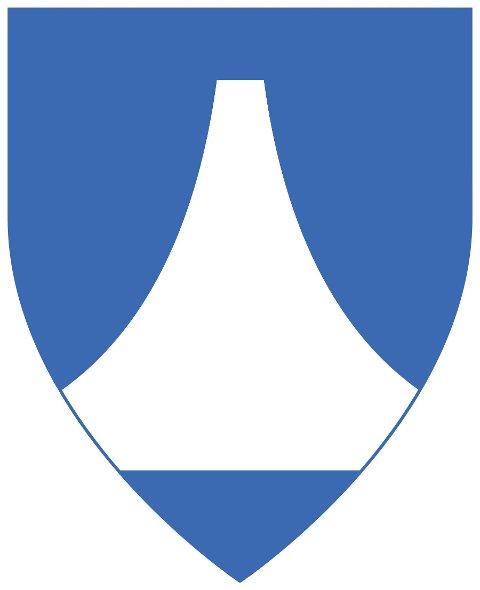 FORSLAGET: Slik ser forslaget til kommunevåpen for nye Narvik kommune ut.