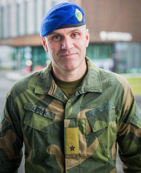 Lars Lervik blir ny sjef for Hæren
