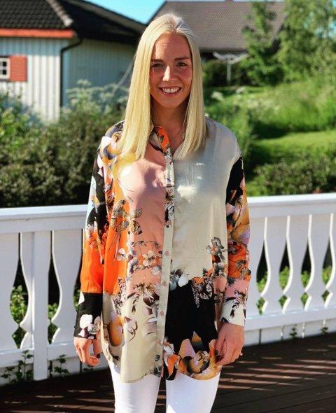 UNGDOMSKANDIDAT: Maren Nordli Lunner er en av 30 ungdomskandidater på Hadeland som stiller til valg i september.