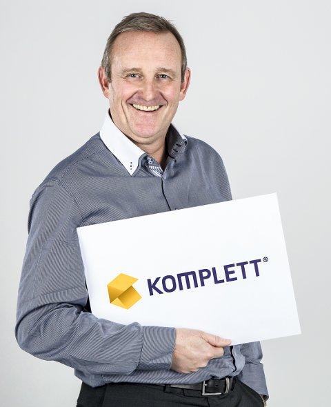 FORNØYD MED KJØPET: Konsernsjef i Komplett, Ole Vinje.