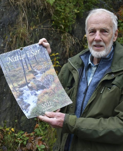 Ny kalender igjen: Paul Mjaaland er klar med sin naturkalender nummer 17 i rekken. Foto: Anne Dehli