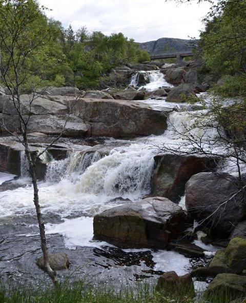 STORT PROSJEKT: Norges vassdrags- og energidirektorat (NVE) har gitt grønt lys for 300-millioners prosjektet med overføring av vann fra Knabeåna og Solliåna til strømproduksjon i Sira-Kvina sine anlegg.