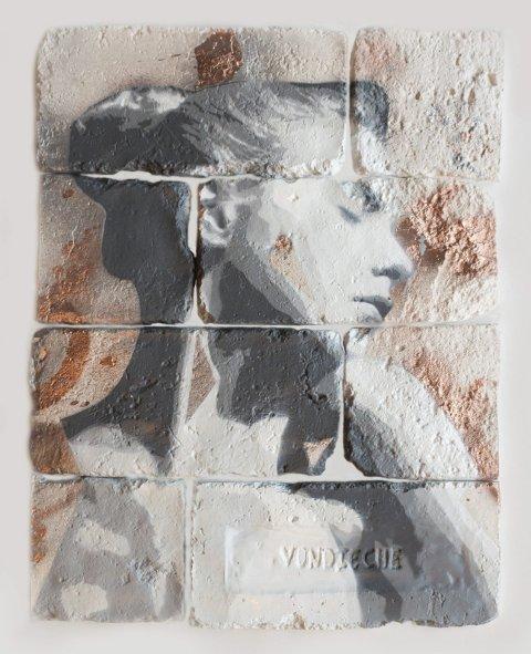 VON DIECHE: Eitt av kunstverka til Malen Dekke Eik. Pressefoto