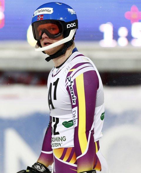 FOR SAKTE: Det gikk trått for Jonathan Nordbotten i første omgang i Santa Caterina. ARKIV.