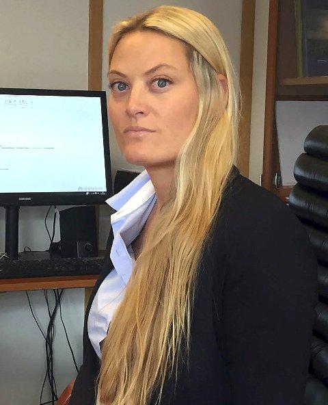 Ønsker å finne løsning: Marit Hienn er styremedlem i Folkets Hus Narvik. Hun er tydelig på at de ønsker å bidra til å finne en løsning på de utfordringene Narvik kulturhus har.  Foto: Fritz Hansen