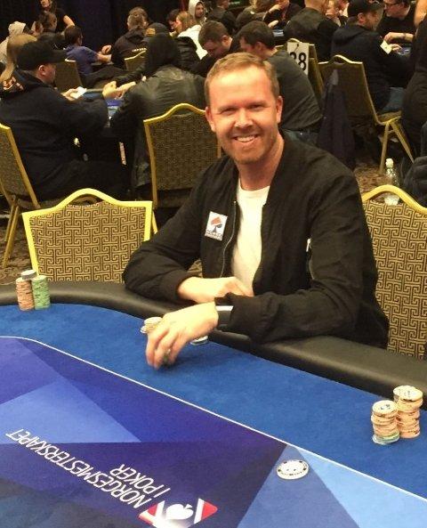 GJER DET BRA: Trygve Leite gjer det bra i poker om dagen. Han vann tidlegare i vinter to internasjonale turneringar, og påsken bruker han i Dublin.