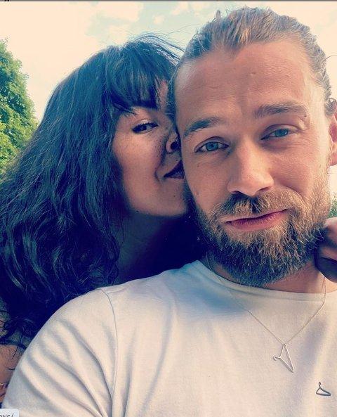 KJÆRESTER: Maria Mena og Morten Kleppa har vært et kjærestepar siden mars i år.