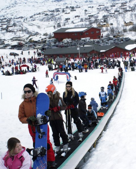 Fjellpåske: Det var mye folk på fjellet påsken 2009. FOTO: ELIN ØVREBØ