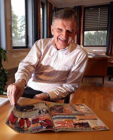 Ivar S. Løge slutter med postordre, og starter med netthandel. Bildet er fra en tidligere reportasje.