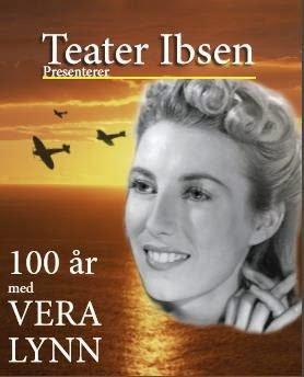 TEATER IBSEN: Og forestillingen 100 år med Vera Lynn kommer til Svelvik. Pressefoto