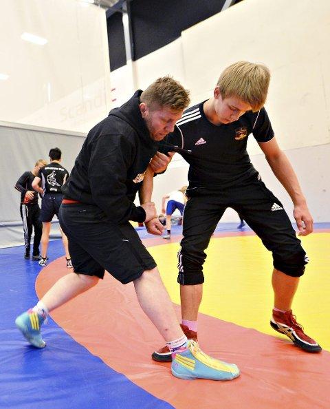 Braatt-trener Eren Gjægtvik kommer med tips til Sondre Burø fra Klæbu.