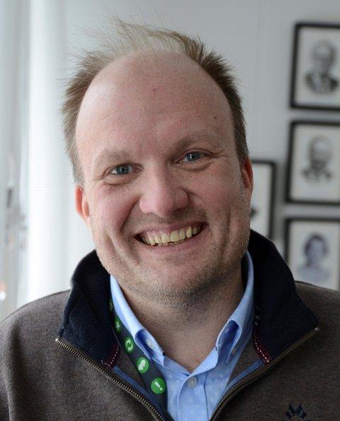 TRENGER MER FAKTA: Kommunikasjonssjef Kristian Westgård i Nittedal kommune.
